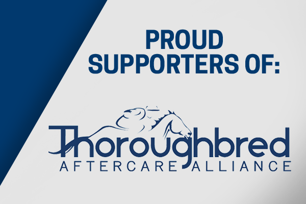 proud supporters of the thoroughbred aftercare alliance